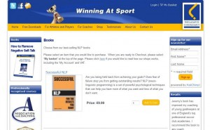 Winning At Sport – eCommerce Website Design