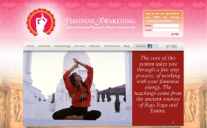 Feminine Awakening Website Development
