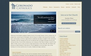 Coronado Catholics – Website Design & Development