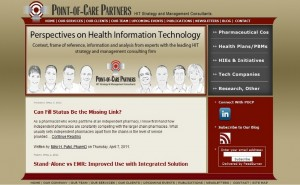 Point-of-Care Partners – Blog Design