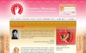 Testimonials Page Design