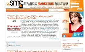 Strategic Marketing Solutions – Website Re-design