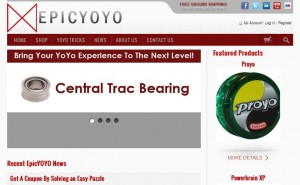 EpicYoyo  Website Branding